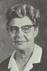Ruth Elnora Frey (Head -Girls Physical Education Department)