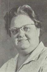 Esther Blanche Lewis (History And Economics Teacher)