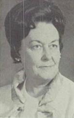 Marjorie Ruth Née Woodin Patrick (Business Education Teacher)