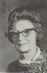 Gladys M (Née Catlett) Willis (Home Economics Teacher)