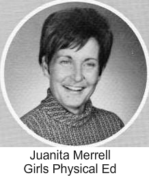 Juanita Merrell (Girls Pysical Ed)