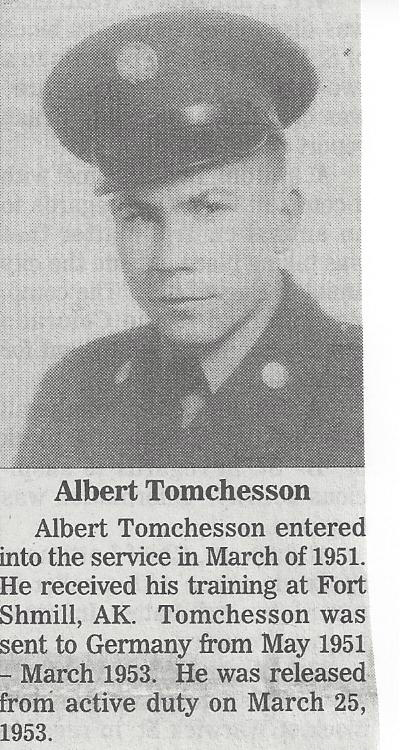 Albert Tomchesson