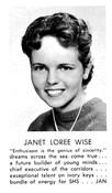 Janet Wise (Rodkey)