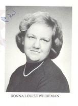 Donna W. Weideman