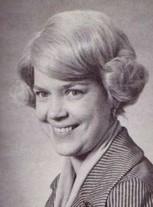 Velma Van der Veer ((Faculty -Home Ec))