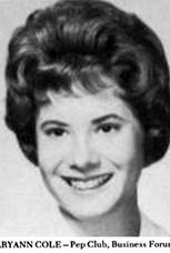 Mary Ann Cole (Ellis)