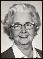 Rachel W. Grinnell (1957 English)