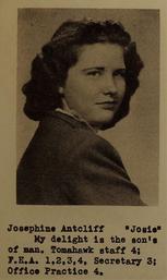 Josephine Faye Antcliff (McKenzie)