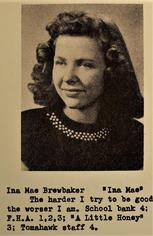 Ina Mae Brewbaker (Richards)