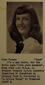 June Cooper