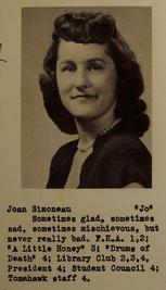 """Alice Joan """"Jo"""" Simoneau (Wren)"""