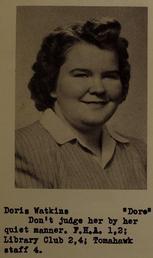 Doris Watkins (Towne)