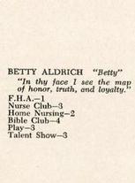 Betty Aldrich
