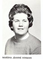 Marsha Jeanne Hinman
