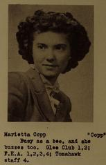 Marietta Copp (Welch)