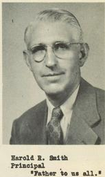 Harold Smith (1943-1948 Principal, Coach And Science)