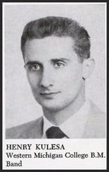 Henry J. Kulesa (1951 Band Director)