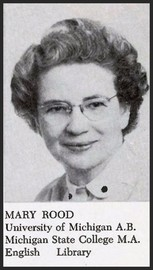 Mary Eunice Dodge (Rood-Sheldon 1951 Library)