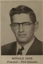"Ronald Burke ""Ron"" Sage (1953 Principal)"