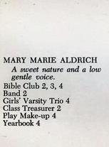 Mary Marie Aldrich