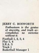 Jerry Bosworth