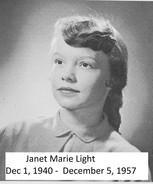 Janet Marie Light
