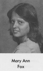 Mary Ann Fox (Hurlbut)