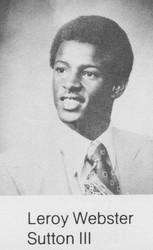 Leroy Webster Sutton III