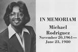 Michael (Obit) Rodriguez