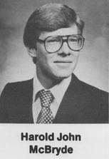 Harold John McBryde