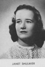 Janet L Shulmier (Troeger)