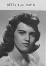 Betty Lou Rupert (Moss)