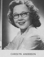 Carolyn Ann Anderson (Meyer)