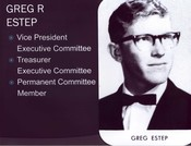 Greg Estep (Treasurer)