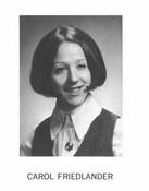 Carol Friedlander