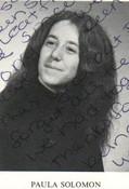 PAULA SOLOMON