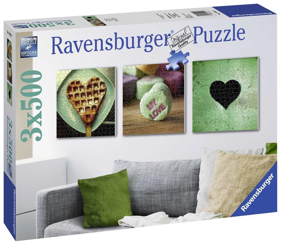 Romp. Impresiones De Amor 3x500p. - Ravensburger | MUYU toys