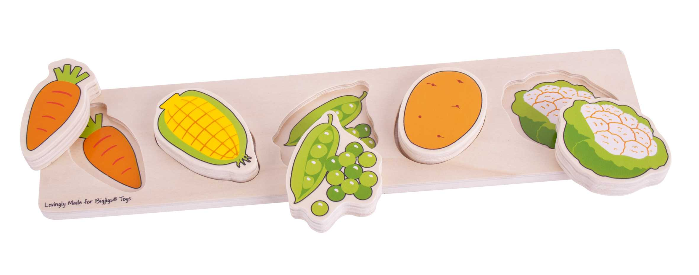Chunky Lift & Match Vegetales