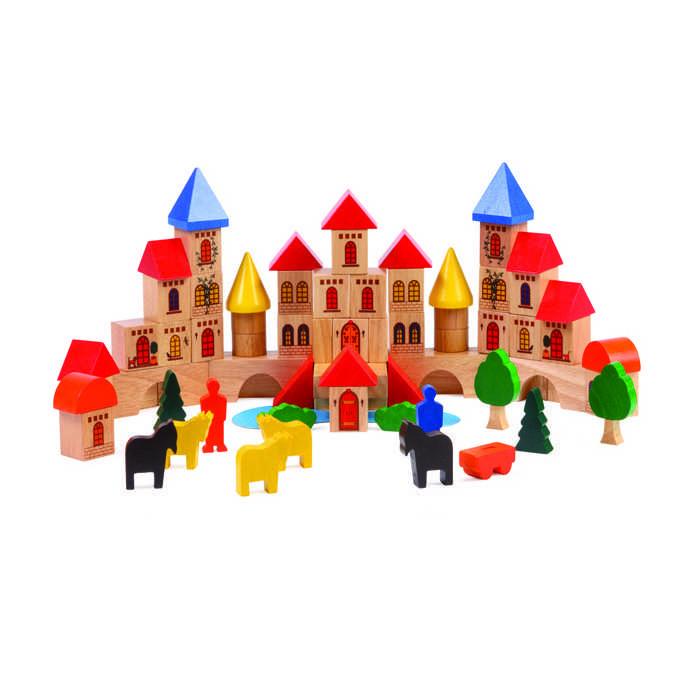 Bloques De Construcción Castillo