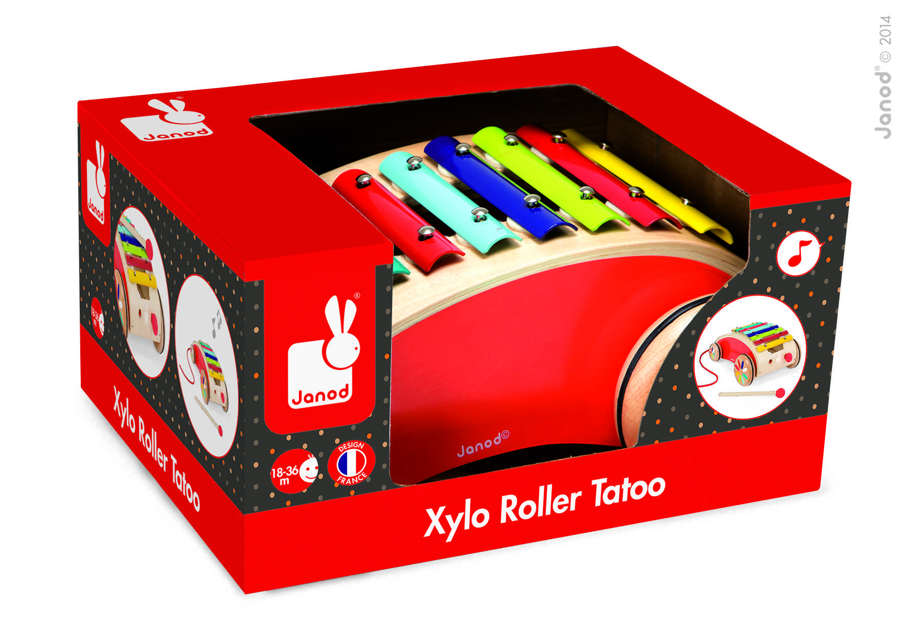 Xylo Roller Rouge Tattoo