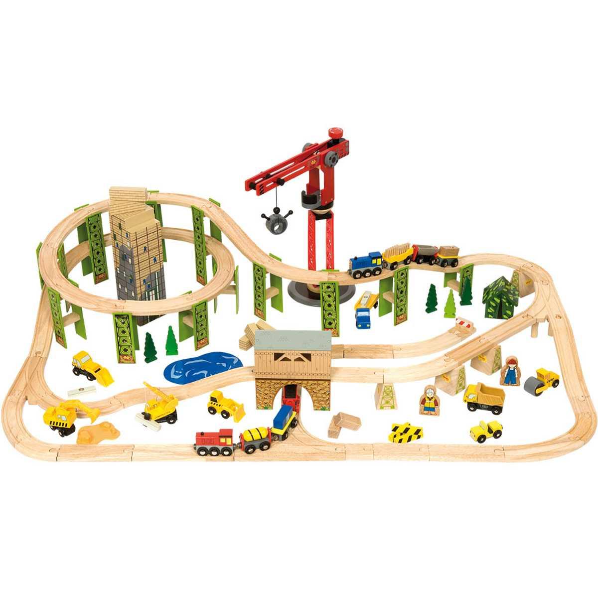 Set De Trenes Construcción