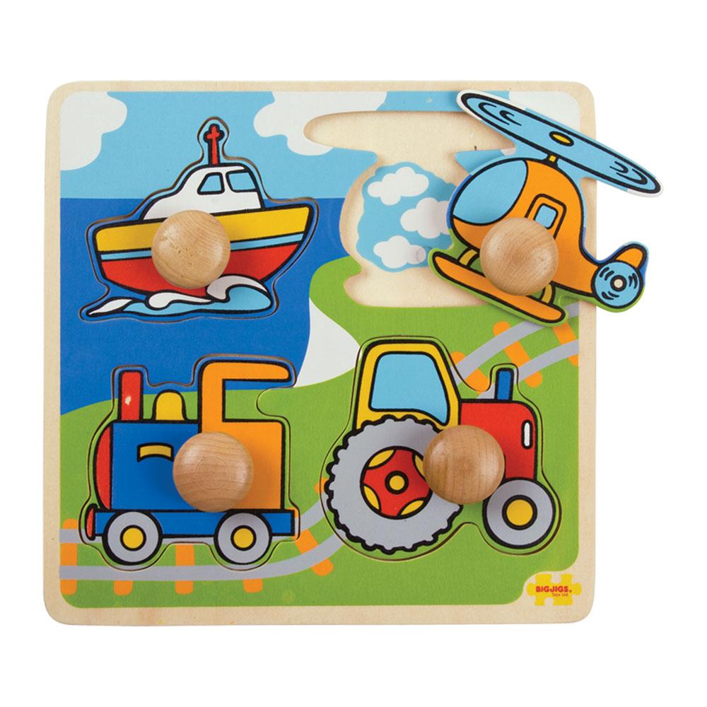 Mi Primer Puzzle Transportes