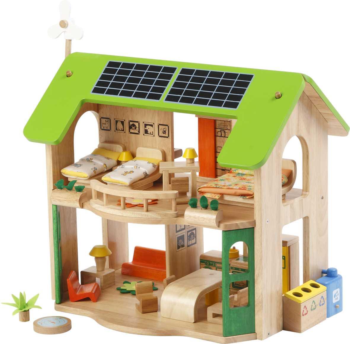 Casa Eco-Amigable Con Muebles