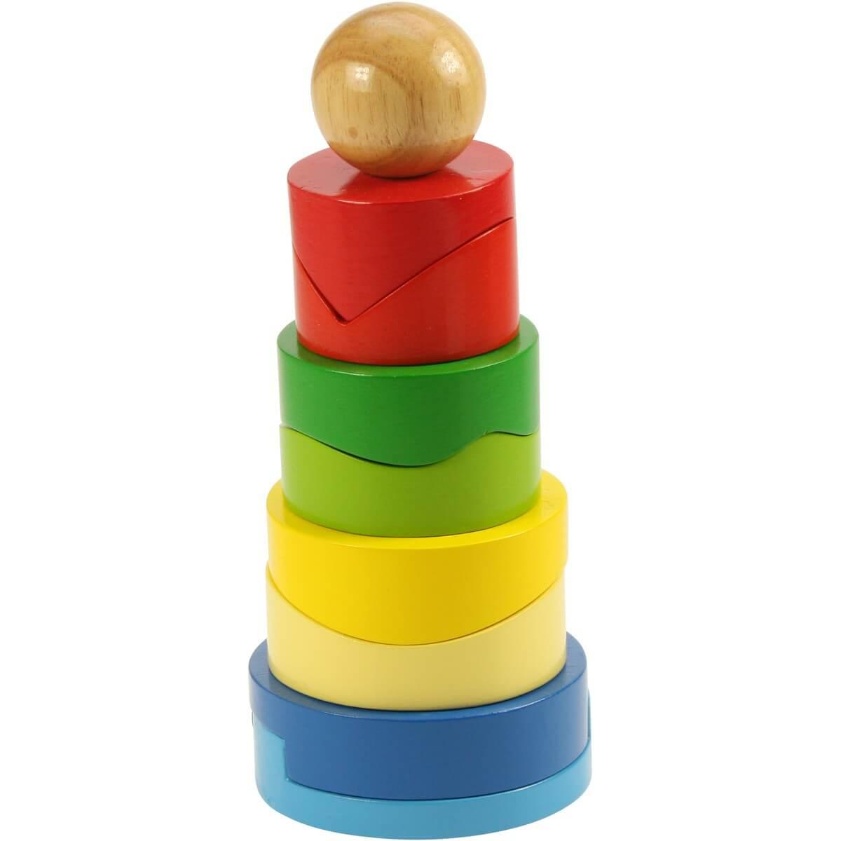 Torre Circular De Encaje