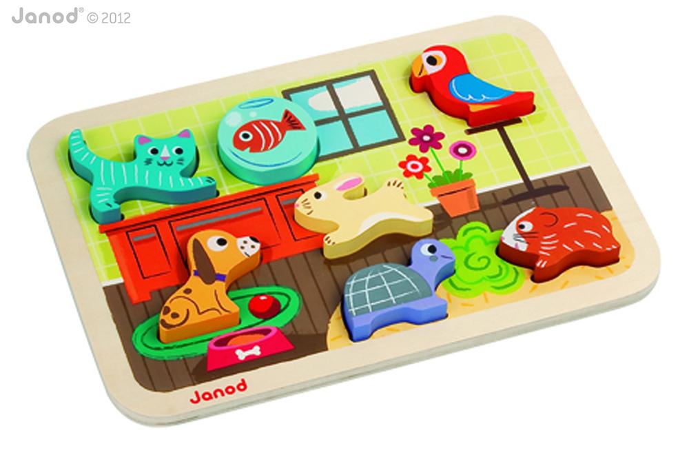 Chunky Puzzle Animo