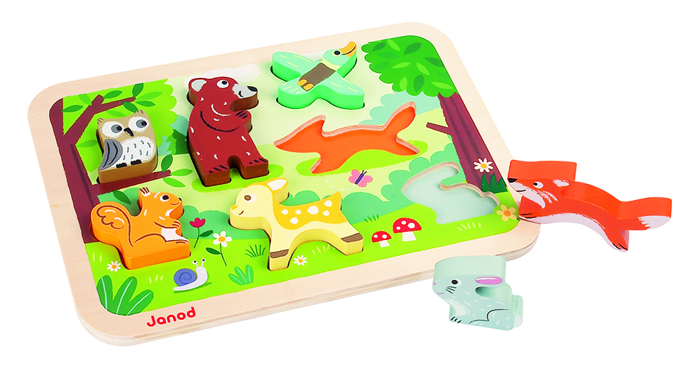 Chunky Puzzle Bosque