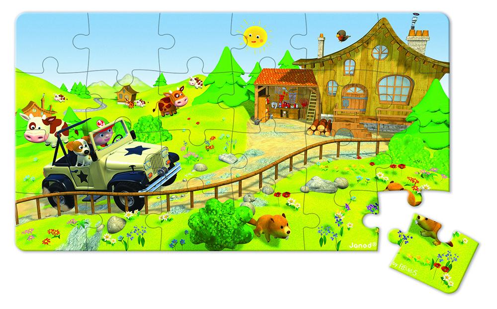 Lovely Puzzle El Todoterreno De Jack