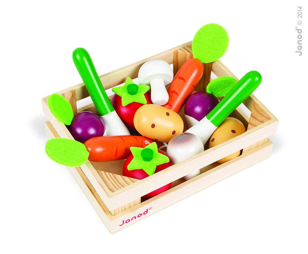 Cajón De 12 Verduras