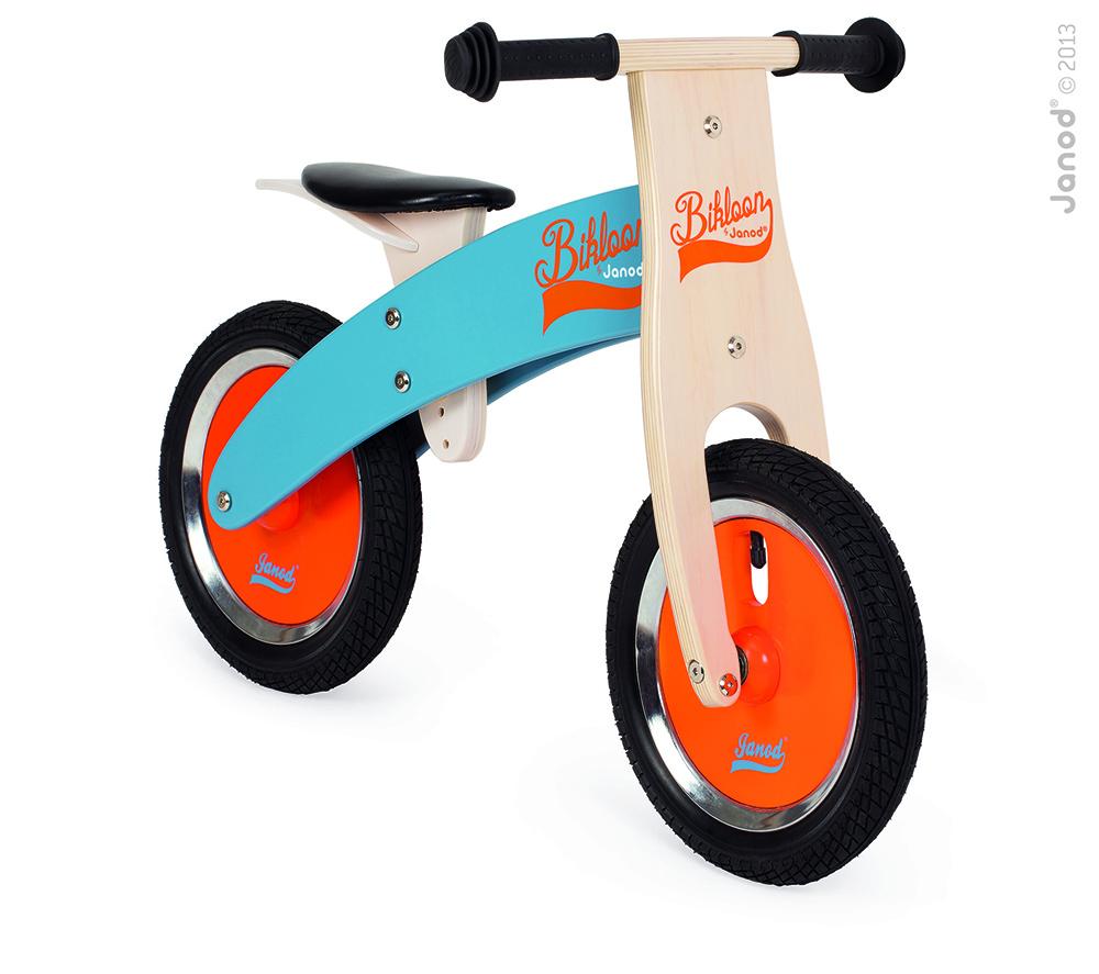 Bicicleta Sin Pedales Azul/Naranja Bikloon