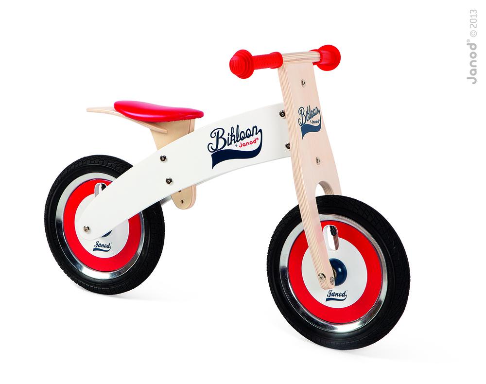 Bicicleta Sin Pedales Rojo/Blanco Bikloon
